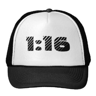 gorra del 1:16 (1:16 de los romanos)