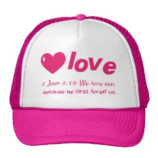 Gorra del 4:19 de Juan del amor 1