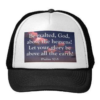 Gorra del 57:5 del salmo
