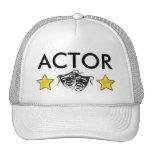 Gorra del actor