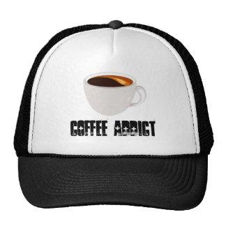 Gorra del adicto al café