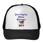 Gorra del administrador de oficinas