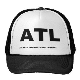gorra del aeropuerto de Atlanta