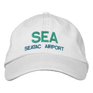 Gorra del aeropuerto del MAR de SEATAC Gorra De Béisbol