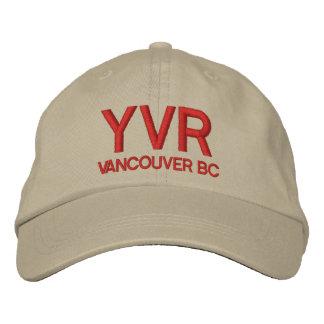 Gorra del aeropuerto internacional de Vancouver Gorros Bordados