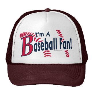 Gorra del aficionado al béisbol