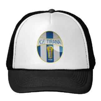 Gorra del albanés del Snapback del KF Tirana