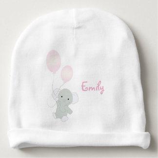 Gorra del algodón del bebé personalizado elefante gorrito para bebe
