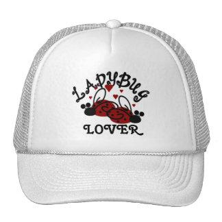 Gorra del amante de la mariquita