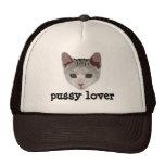 gorra del amante del gatito