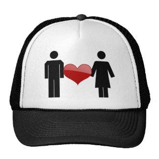 Gorra del amor del cartel