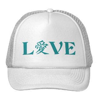 Gorra del amor del kanji - elija el color