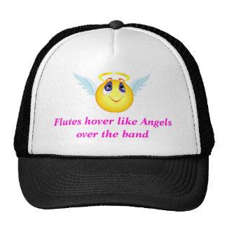 Gorra del ángel de la flauta