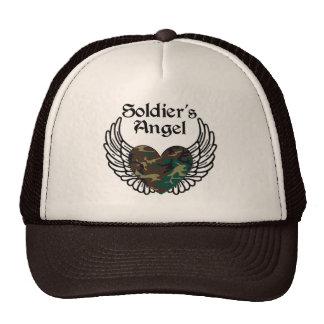 Gorra del ángel del soldado