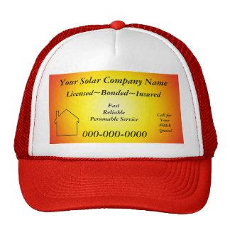 Gorra del anuncio Solar Company