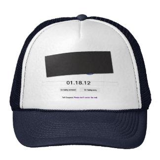 Gorra del apagón de SOPA