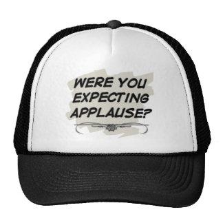 Gorra del aplauso