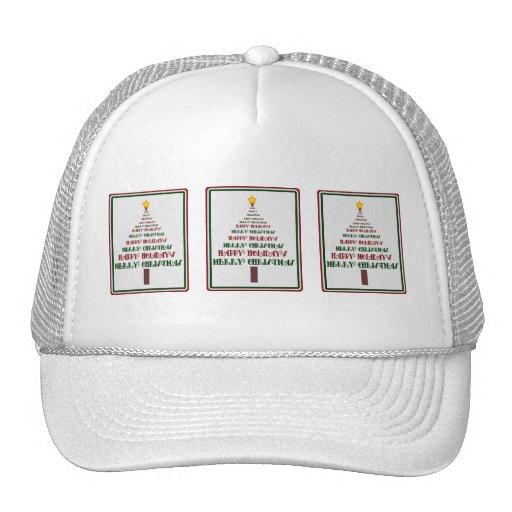 Gorra del árbol de navidad
