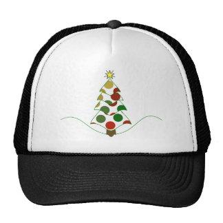 Gorra del árbol de navidad del lunar