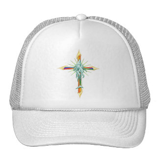 Gorra del arco iris Fish-Cross_2