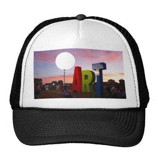 Gorra del arte