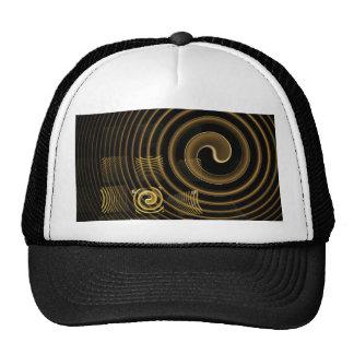 Gorra del arte abstracto de la hipnosis
