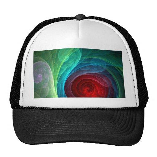 Gorra del arte abstracto de Red Storm