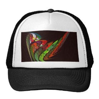 Gorra del arte abstracto del camaleón