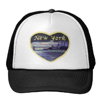 Gorra del arte de la novedad de New York City del