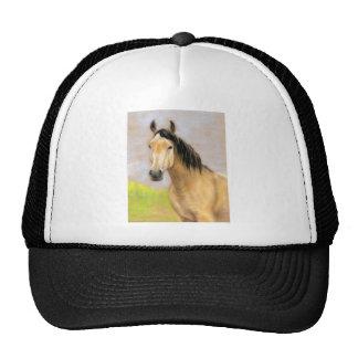 Gorra del arte del caballo del ante