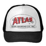 Gorra del atlas - logotipo rojo
