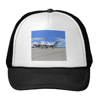 Gorra del avión de caza a reacción de los ángeles
