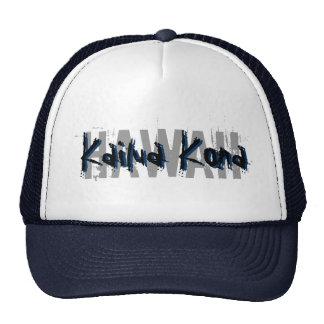 Gorra del azul de Kailua Kona Hawaii