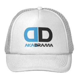 Gorra del azul de la DD del drama del entretenimie