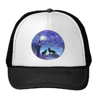 Gorra del azul de los animales de la fauna de los