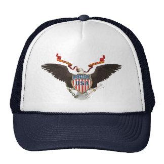 Gorra del azul del patriota de los E.E.U.U.