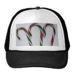 Gorra del bastón de caramelo