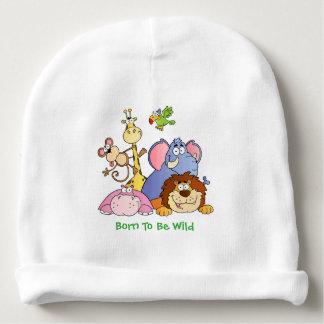 Gorra del bebé--Animales de la selva Gorrito Para Bebe