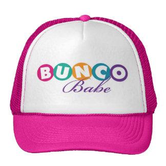 Gorra del bebé de Bunco