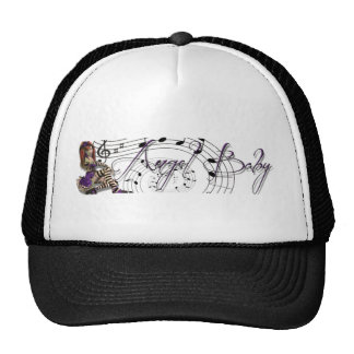 Gorra del bebé del ángel