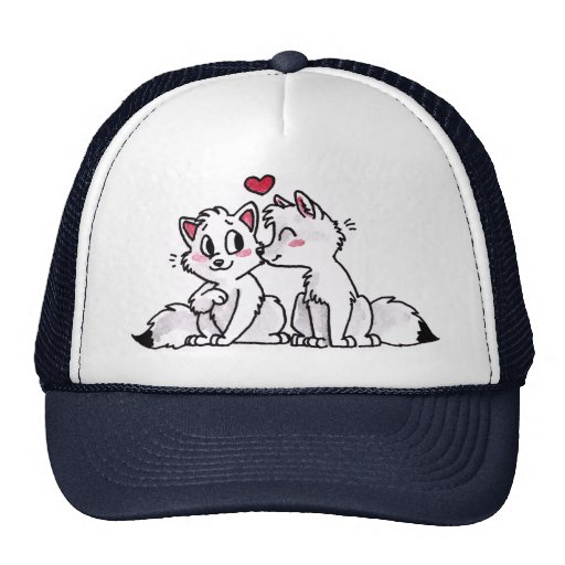 Gorra del beso del Fox ártico