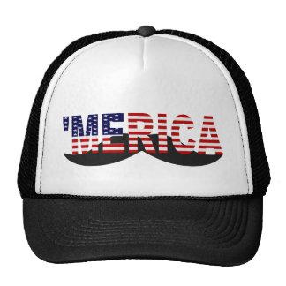 'Gorra del bigote de la bandera de MERICA los E.E.