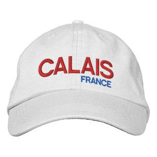 Gorra del blanco de Calais* Francia Gorro Bordado