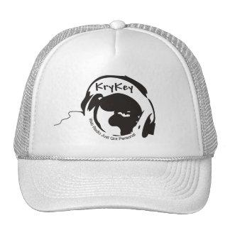 Gorra del blanco del logotipo de KryKey