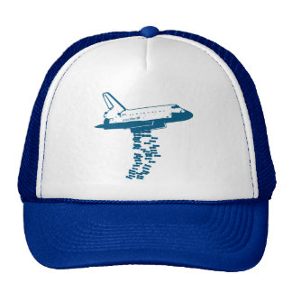 Gorra del bombardero del transbordador espacial