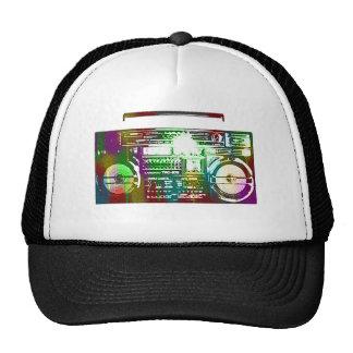 gorra del boombox de los años 80