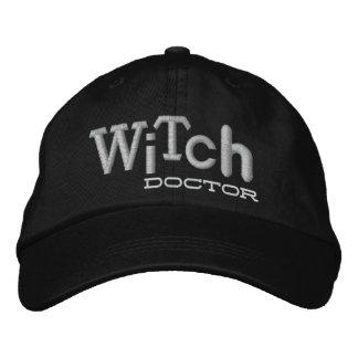 Gorra del bordado de Halloween del DOCTOR de BRUJA Gorra Bordada