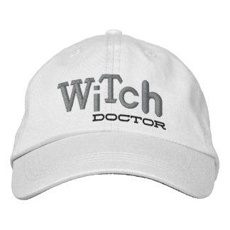Gorra del bordado de Halloween del DOCTOR de BRUJA Gorras Bordadas