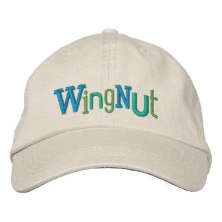 Gorra del bordado de la nuez de ala gorra de beisbol