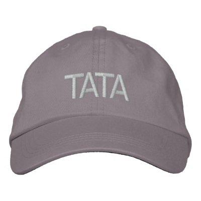 Gorra del bordado de TATA Gorros Bordados